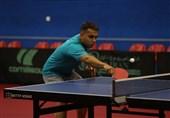 تنیس روی میز قهرمانی آسیا| تیم دوبل هدایی و احمدیان حذف شد