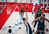 المپیک 2020 توکیو| آمریکا قهرمان بسکتبال شد + عکس
