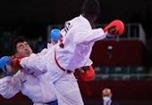 المپیک 2020 توکیو  تصاویری از مصدومیت گنجزاده/ گنج طلایی کاراته ایران به هوش آمد