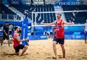المپیک 2020 توکیو| مدال طلای والیبال ساحلی بر گردن نروژیها
