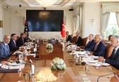 دیدار اردوغان و نخستوزیر لیبی در استانبول