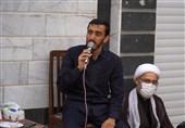 روضه خانگی حاج مهدی رسولی به میزبانی خانوادههای شهدا + فیلم