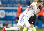 لالیگا| بنزما درخشید، رئال مادرید مقتدرانه آغاز کرد/ تقابل اوساسونا و اسپانیول برنده نداشت