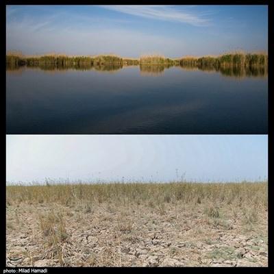 عظیم بی آب - خوزستان