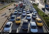 محور کرج - چالوس موقتا یکطرفه شد/ ترافیک سنگین در مسیرهای منتهی به تهران