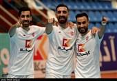 هفته پنجم لیگ برتر فوتسال  پیروزی پر گل گیتیپسند در جدال مدعیان لیگ/ روز خوب محمدی با مهار 3 پنالتی و گلزنی