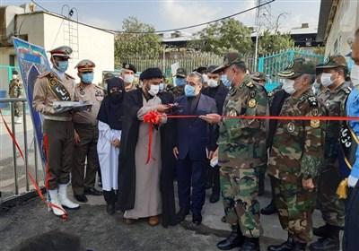 افتتاح داروخانه اختصاصی بیماران کرونایی توسط نیروی زمینی ارتش