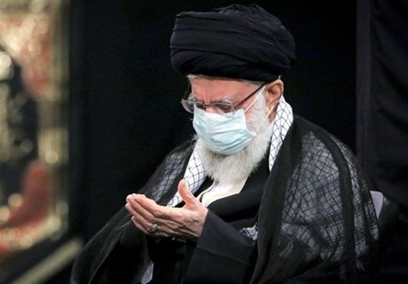 برگزاری مراسم عزاداری شب تاسوعای حسینی با حضور رهبر انقلاب