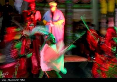 مراسم تعزیه خوانی شب عاشورای حسینی در همدان