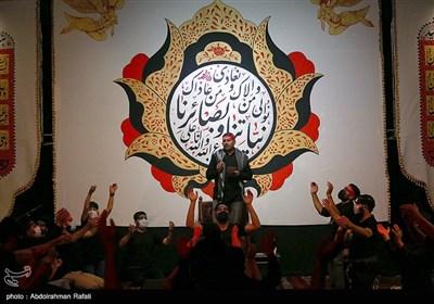 مراسم عزاداری شب عاشورای حسینی در حسینیه ثارالله سپاه انصارالحسین(ع) همدان