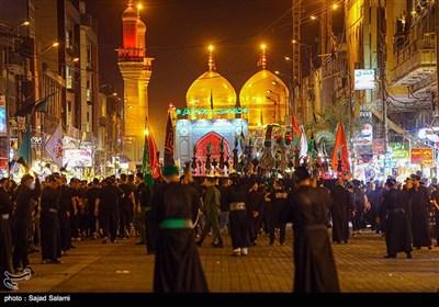 شب عاشورای حسینی در کاظمین
