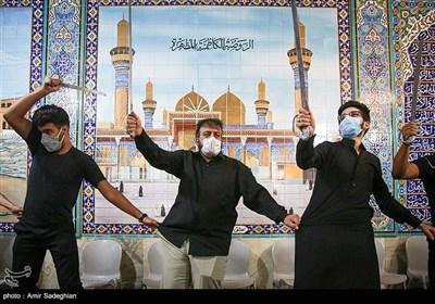 مراسم عزاداری شب عاشورای حسینی در حسینیه نجفی های مقیم شیراز