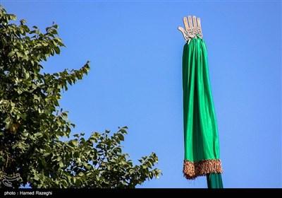 آیین علم گردانی در روستای درسجین شهرستان ابهر