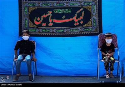 عزاداری روز عاشورا در هیئت افغانستانیهای مقیم اصفهان