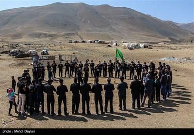 عزاداری عاشورای حسینی در عشایر شهرستان اهر