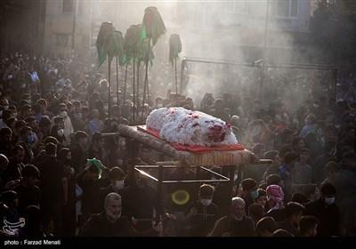 مراسم خیمه سوزان در کرمانشاه