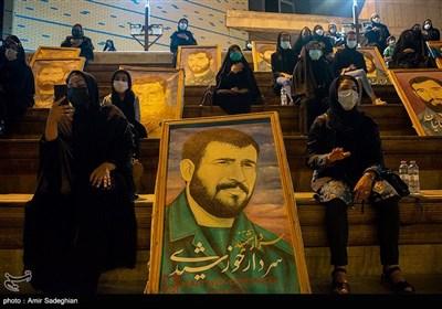 مراسم عزاداری شب شهادت امام سجاد(ع) در موزه دفاع مقدس استان فارس