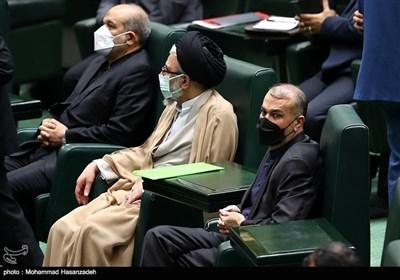 اجتماع مناقشة أهلیة الوزراء المقترحین لحکومة رئیسی
