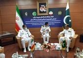 دعوت فرمانده نیروی دریایی پاکستان از نیروی دریایی ارتش برای شرکت در رزمایش عمان