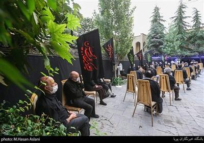 مراسم عزاداری شهادت امام سجاد(ع) در حوزه علمیه قائم چیذر