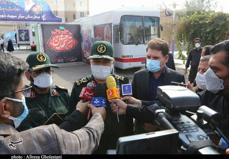 استان کرمان , کرونا , شهید , شهید سپهبد قاسم سلیمانی ,