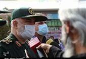 فرماندهکل سپاه در بم: سایههای محرومیت را با همکاری همه نهادها از کشور دور میکنیم/ به آینده امیدوار هستیم