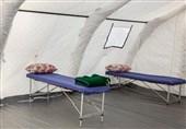 بیمارستان صحرایی 50تختخوابی بههمت بسیج ادارات استان فارس راهاندازی شد