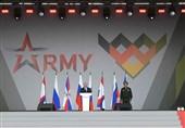 پوتین: سهم تسلیحات مدرن نیروهای راهبردی روسیه بیش از 80 درصد است