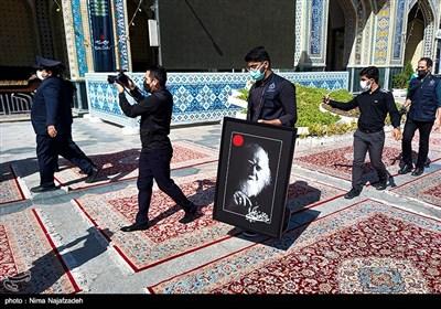 تشییع پیکر علامه محمدرضا حکیمی - مشهد