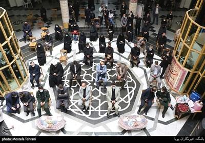 بازدید از فعالیت های ناحیه مقاومت بسیج مالک اشتر در طرح شهید سلیمانی