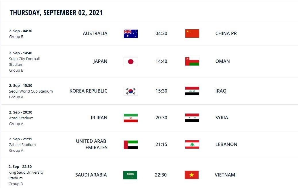 تیم ملی فوتبال ایران , تیم ملی فوتبال سوریه , جام جهانی 2022 قطر ,