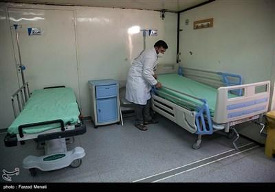 افتتاح بزرگترین بیمارستان سیار تخصصی کرونا توسط نیروی زمینی سپاه-کرمانشاه