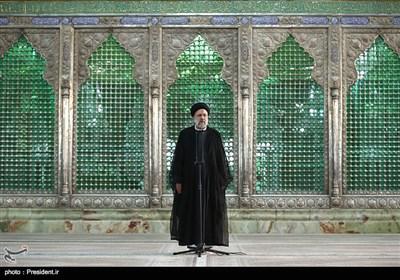 تجدید میثاق اعضای هیات دولت با آرمانهای امام راحل
