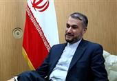 پیام تبریک وزرای خارجه تاجیکستان و ارمنستان به امیرعبداللهیان