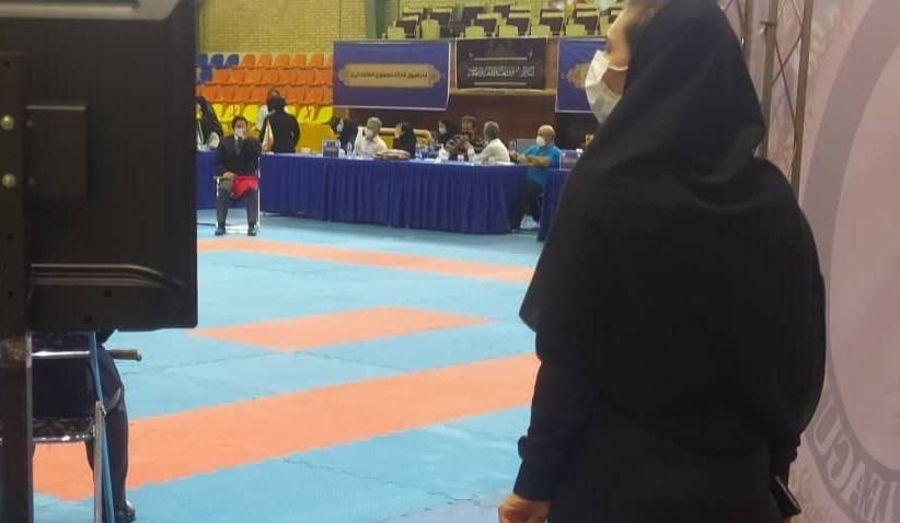 14000605171414624234849910 - حضور عجیب رهنما در انتخابی کاراته بانوان/ همه کاره تیم ملی بانوان، مرد خواهد بود؟ + تصاویر