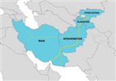کریدور ایران-افغانستان-تاجیکستان-قرقیزستان برای ترانزیت کالا باز شد