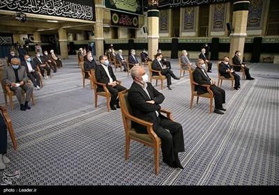 أول لقاء للحکومة الإیرانیة الجدیدة بالإمام الخامنئی