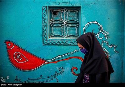 کوچه گالری نارنجستان قوام-شیراز
