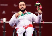 ایران تحصد اول ذهبیة لها فی اولمبیاد طوکیو للمعاقین