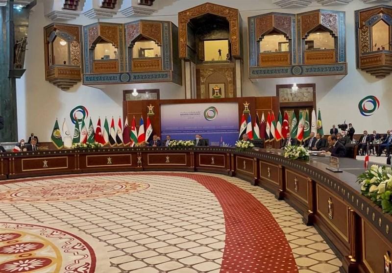 أمیر قطر: واثقون من استعادة قوة العراق