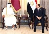امیر قطر و رئیس جمهور مصر بعد از 4 سال دیدار کردند