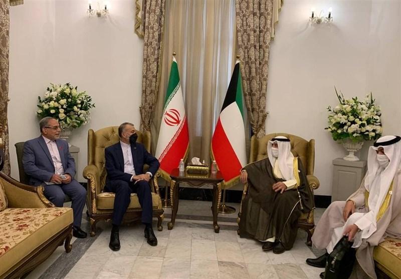 مباحثات ایرانیة -کویتیة على هامش مؤتمر بغداد