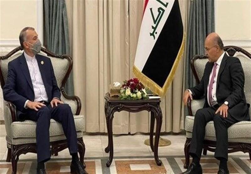 آیة الله رئیسی یوجه دعوة رسمیة لنظیره العراقی لزیارة طهران