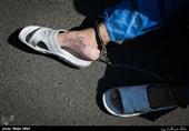 زمینگیر شدن سارق مسلح موبایل حین زورگیری خونین