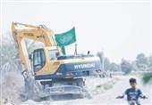 عملیات آبرسانی به روستاهای سیستانوبلوچستان با همت جمعیت امامرضاییها