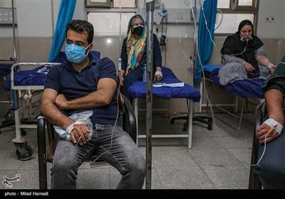 بیمارستان گلستان اهواز در پیک پنجم کرونا