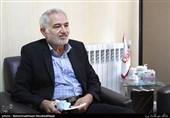 جواد فریدی اسکویی مدیرعامل کانون آرامش جانبازان اعصاب و روان در میزگرد دفاع مقدس