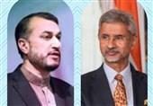 گفتگوی تلفنی امیرعبداللهیان و همتای هندی در خصوص همکاریهای تهران-دهلی نو