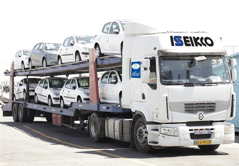 رشد 34 درصدی حمل محصولات گروه صنعتی ایران خودرو در پنج ماهه نخست امسال