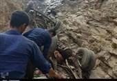 سقوط مینیبوس و جانباختن 16نفر در کامیاران به روایت تصویر